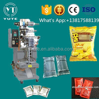 beverage packing pouch Automatic liquid filling sealing packing machine for small plastic bag