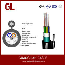 China supplier fiber optic cable for pakistan Self-supporting Fiber Optical Cable Gytc8s 12cores