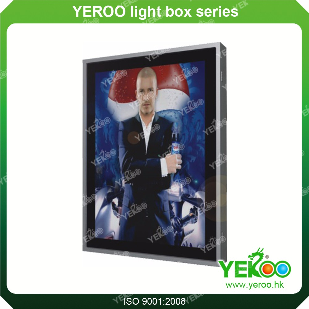 Outdoor Advertising Ground Standing Showlight Vitrines Box