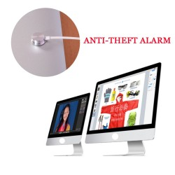 Retail store 6 ports desktop computer security alarm system for iMac experience