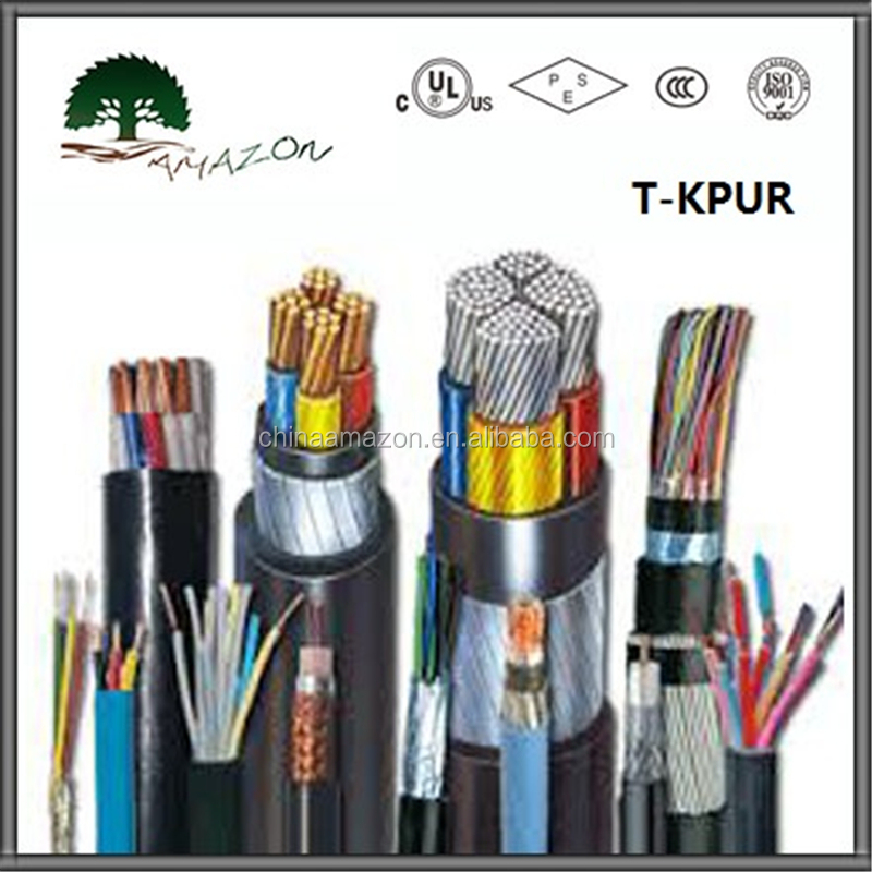 Oil resistance multicore flexible control cable wire