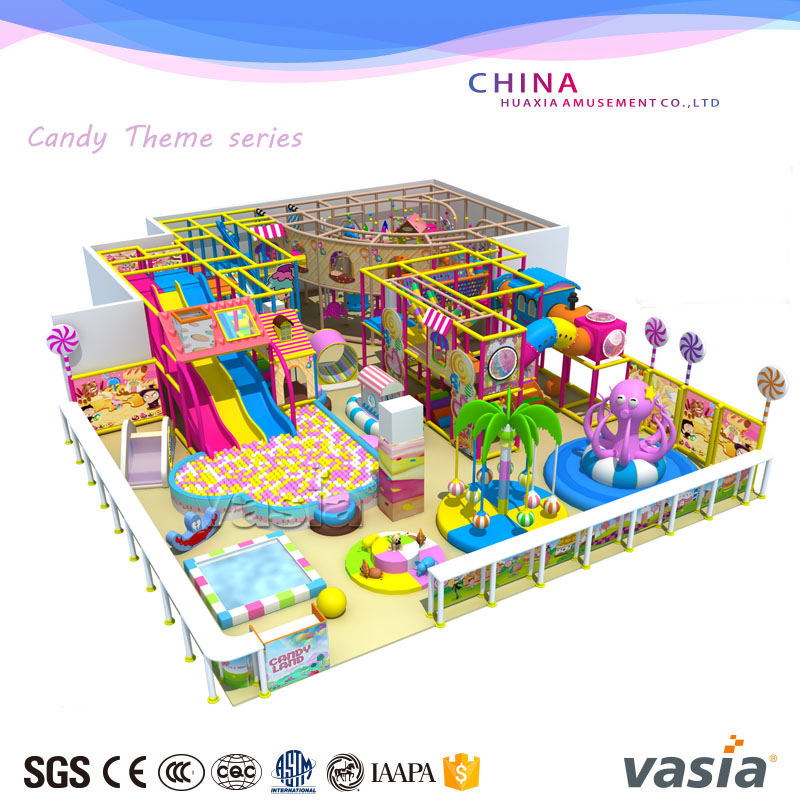 Kids Commercial Used Indoor Exercise Soft Playground Big Slides play Equipment For Sale