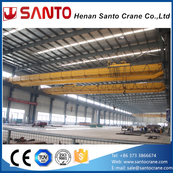 A5~A7 Heavy Working Duty slow speed double girder 5t overhead traveling bridge crane