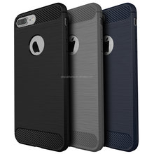 Heat dissipation Cool Series sumptuous original Carbon Fiber lithe silicone cell phone Case For Apple iPhone 6 6S plus