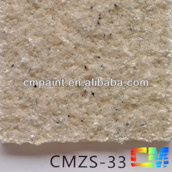 Acrylic resin natural stone texture waterproof exterior coating