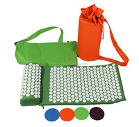 Eco-friendly Acupressure shakti mat set/acupressure mat and pillow set