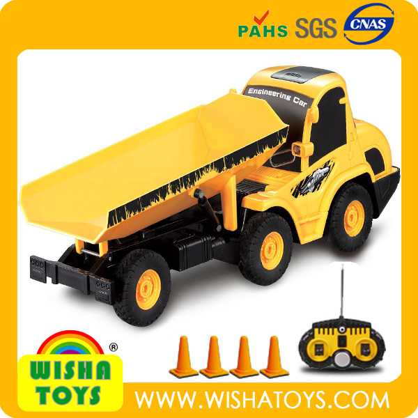 Newest! 1:20 6 channel rc dump truck construction truck for sale