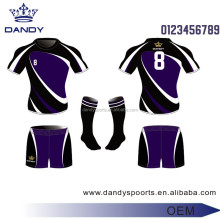 China factory wholesale rugby jersey with sublimation transfer printing technology