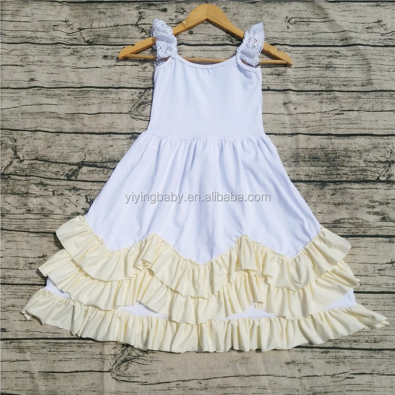 High quality children frocks designs 2016 New arrival children dress designs pictures for children gown