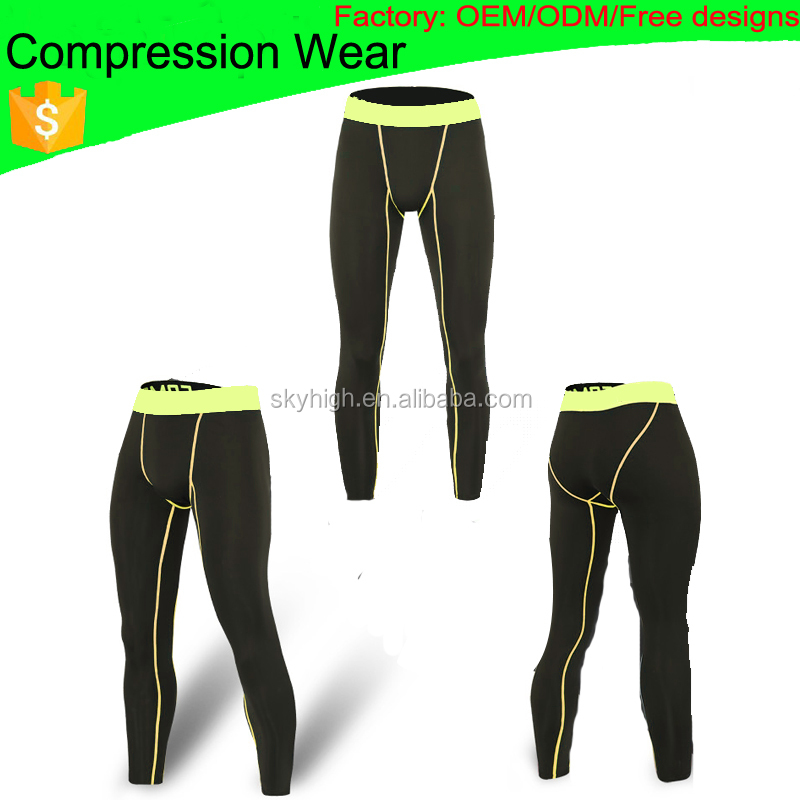 (Factory: OEM/ODM) Men Sportswear,Compression pants,Compression Tights 006