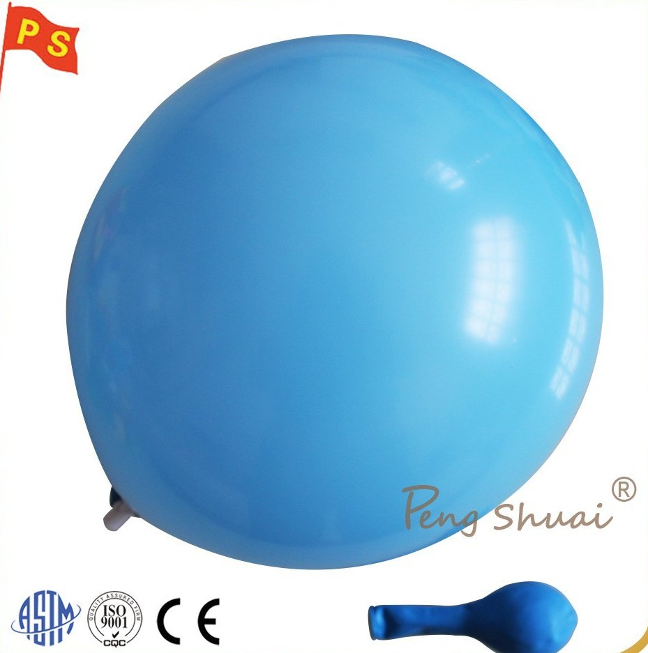 latex free balloon 10 inch 2.2g sky blue color