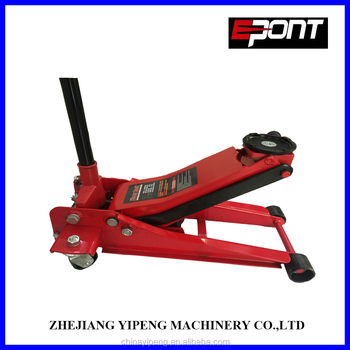 3t widely used low profile hydraulic trolley lifting jack floor jack