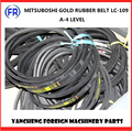 MITSUBOSHI GOLD RUBBER BELT LC-109 A-4 LEVEL