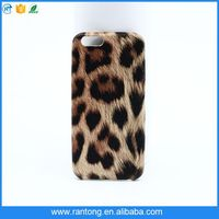New fashion style leopard print TPU woman mobile phone case for iphone6