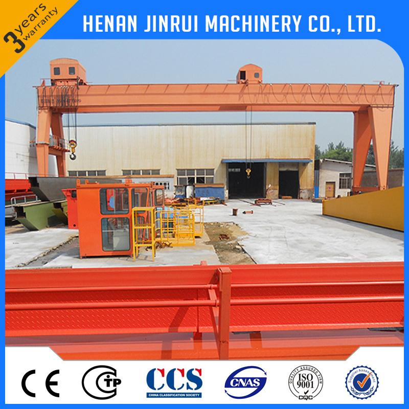 Supply Cheap Low Cost High Quality 50 Ton Movable Gantry Crane