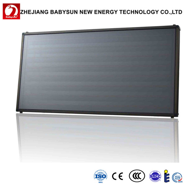 2016 new design pressure flat plate solar collector prices, solar water heater