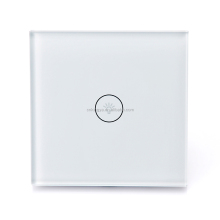KINGYA Smart home automation system Tuya solution smart life App EU WiFi lighting touch switch with Echo alexa voice control