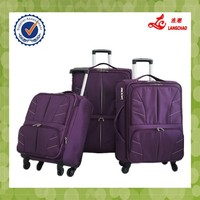 Purple Color Real Push Trolley 360 Wheels 20/24/28 Bags School China Wholesale Luggage Travel Bags