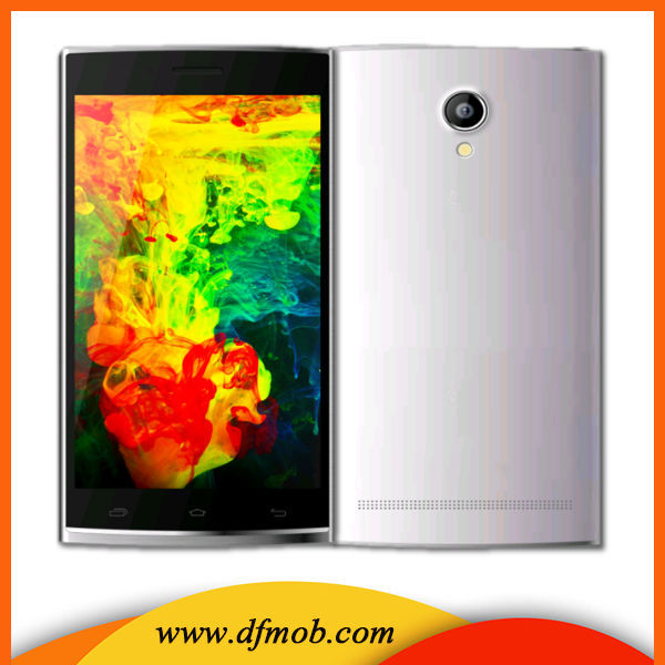 5.5 Inch QHD IPS Screen MTK6582 OEM/ODM Mobile Phone With GPS L8