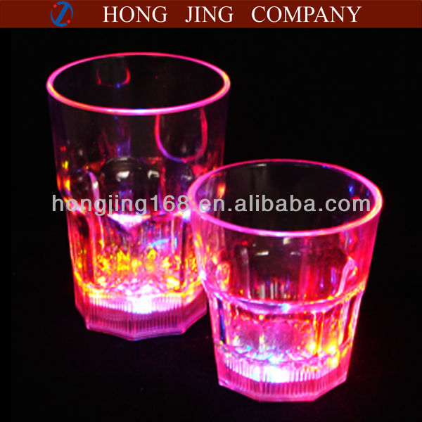 led whiskey cup