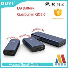 OUYI QPB6700/10050/20100 High quality 20100mAh power bank charger with quick charger 3.0