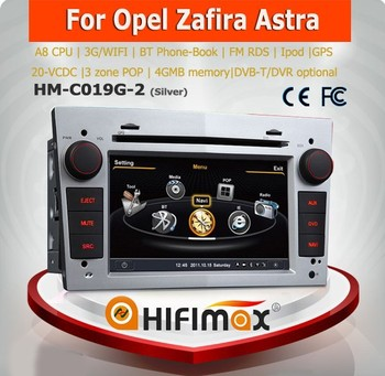 Hifimax double din car dvd players for opel corsa car radio gps(2006-2010) with A8 Dual Core Fast CPU DVD GPS RADIO IPOD BT POP