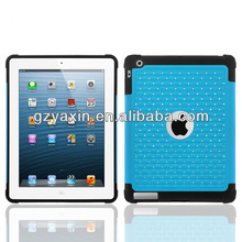 Top quality wholesale factory mobile phone diamond cover for ipad 2