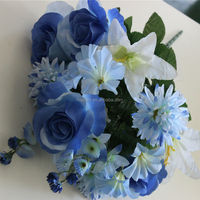 artificial wedding flower artificial bunches flower artificial flower making