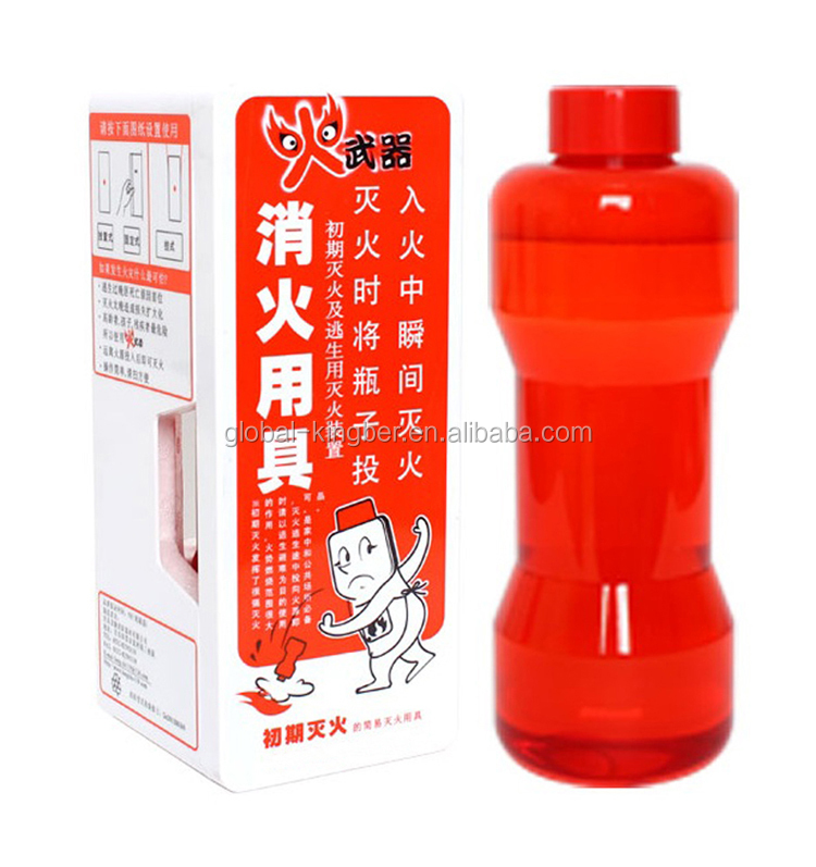 Low Price Throwable Fire Escape Bottle Fire Extinguisher