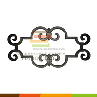 factory hot selling cast iron fence panels