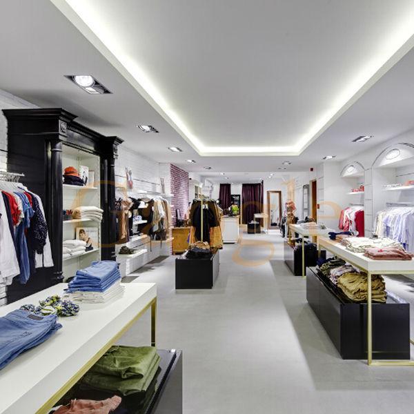 OEM garment shop interior design clothing store furniture garment shop decoration furniture
