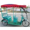 good selling thee wheels electric passenger auto rickshaw to India