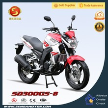 China Manufacture New Racing Sport Motorcycle 200CC 300CC 600CC 4 Stroke Engine Motorcycles Wholesale for Police Bike SD300GS-8