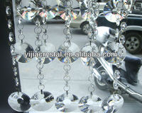 wedding Curtain Decoration Hanging Crystal Beads in bulk