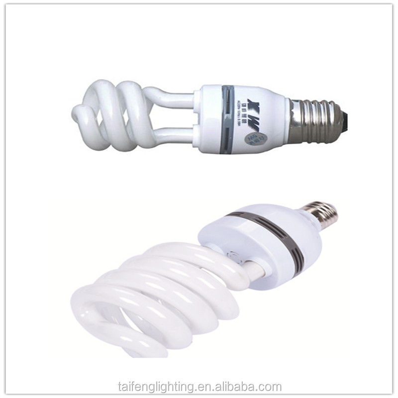 High Quality half spiral energy saving lamp/cfl