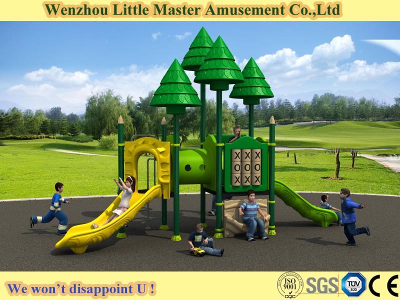 (LM-H30C) Cheap Used Commercial Playground Equipment, Large Outdoor Plastic Playground Slide for Sale