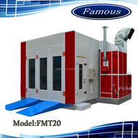 High quality spray bake paint booth/wood paint oven/car spray painting machine