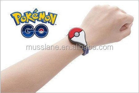 2016 Global Hot Newest Factory price Pokemon Go Plus pokemon bracelet