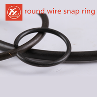 China good quality low price manufacture&exporter&supplier roundwire snap rings for