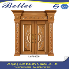 New patent design main different types of iron gate door