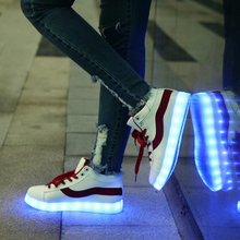 led shoes sneaker China popular adult led shoes sneakers to USA