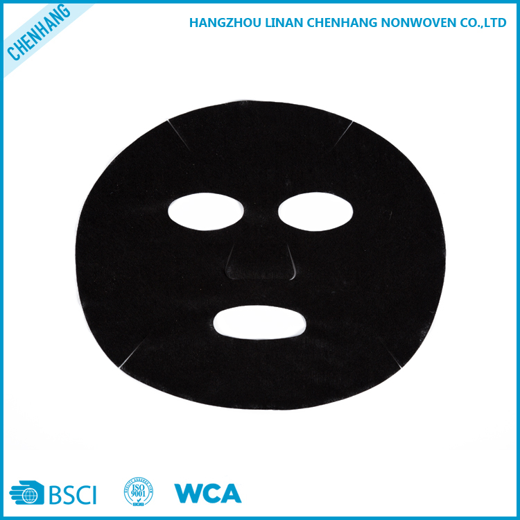 China Wholesale Market Agents Non-woven Disposable Bamboo Charcoal Fiber Cosmetic Facial Mask Sheet