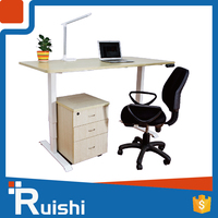 Ruishi brand alibaba popular furniture stainless steel desk leg standing smart computer desk