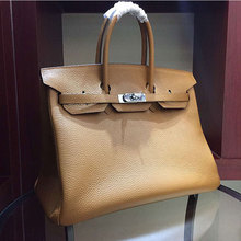 Manufacurer OEM made 35cm high quality camel good quality and cheap price handbags L-RB2-8