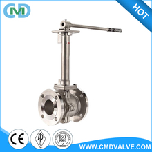 API 6D Lever Operated LCB Cad drawings Long stem refrigeration ball valve