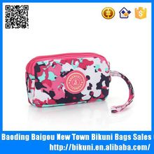 Women fashion hand bags cotton fabric small coin purse for african