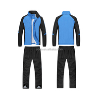 Wholesale waterproof long sleeve dry-fit athletic jogging sets track suit