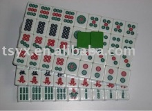 Green crystal mahjong