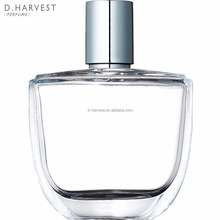 2017 Hot sale vintage 70ml transparent fragrance bottle glass