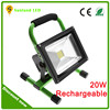 ce rohs High Quality 20w LED flood light Rechargeble led emergency work flood light with best price